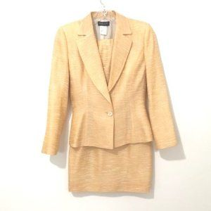 Luca Luca Blazer, Skirt and Tube Top Suit Set